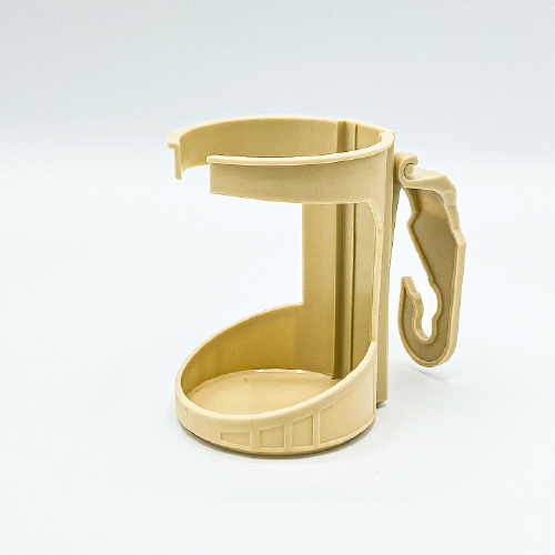 Flamingo Auto FA003 Cup Holder With Hook Beige 1