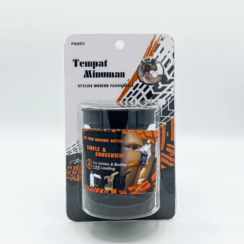 Flamingo Auto FA003 Cup Holder With Hook Package 1