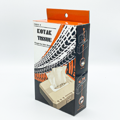 Flamingo Auto FA006 Multi Tissue Case Package 3