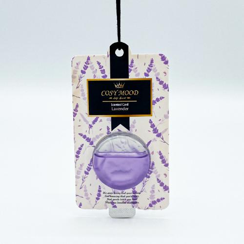NO.302 Cosy Mood Scented Card Lavender