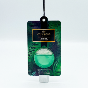 NO.302 Cosy Mood Scented Card Lime Basil