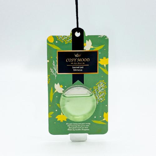 NO.302 Cosy Mood Scented Card Mimosa