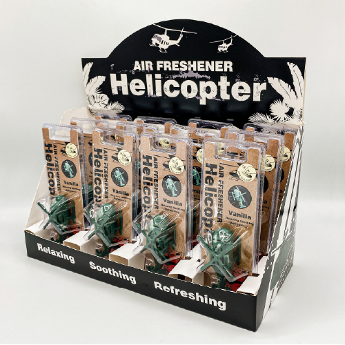 NO.36 Helicopter Air Vent Display Box 2