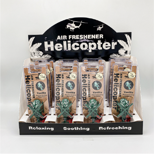 NO.36 Helicopter Air Vent Display