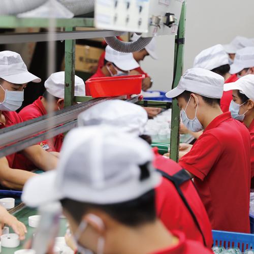Efficient assembly line design